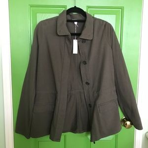 JAMES PERSE Army Green Shirt Jacket - US Size 2